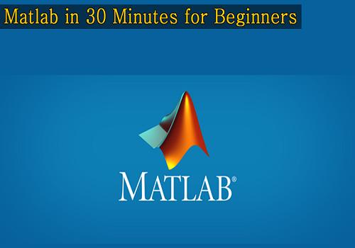 كورس تعليم الماتلاب في 30 دقيقة للمبتدأين - Matlab in 30 Minutes for Beginners M_i_3_10
