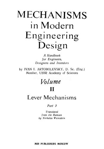 كتاب Mechanisms in Modern Engineering Design Vol II  M_i_m_11