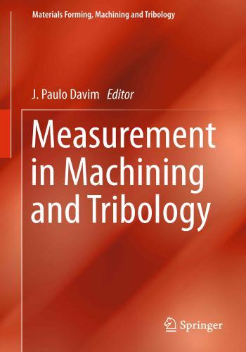 كتاب Measurement in Machining and Tribology  M_i_m_17