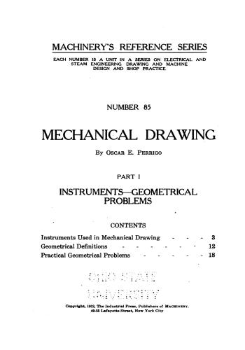 كتاب Mechanical Drawing - Part I  M_r_s105