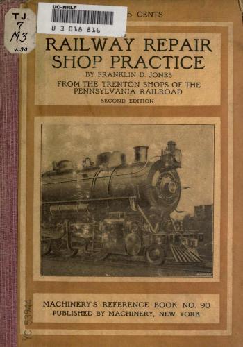 كتاب Railway Repair Shop Practice  M_r_s112