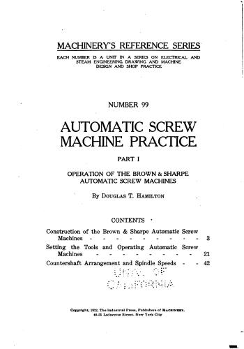 كتاب Automatic Screw Machine Practice - Part I  M_r_s120