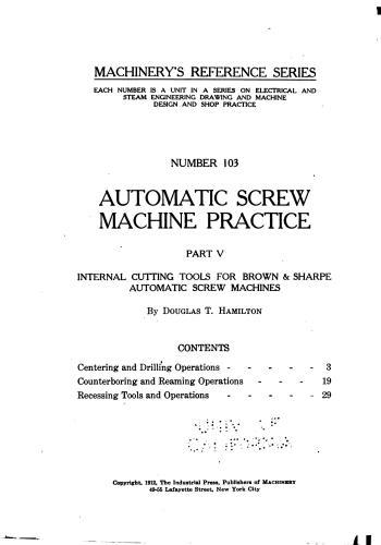 كتاب Automatic Screw Machine Practice - Part V  M_r_s123