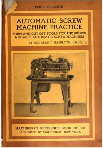 كتاب Automatic Screw Machine Practice - Part III  M_r_s124