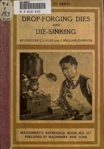 كتاب Drop-forging Dies and Die-sinking  M_r_s128
