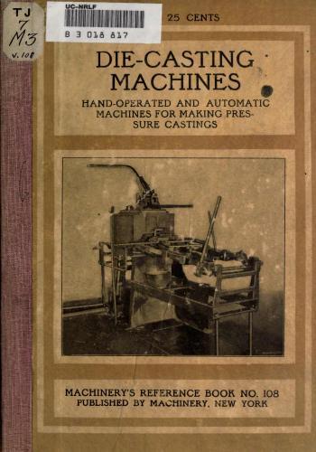 كتاب Die Casting Machines  M_r_s130