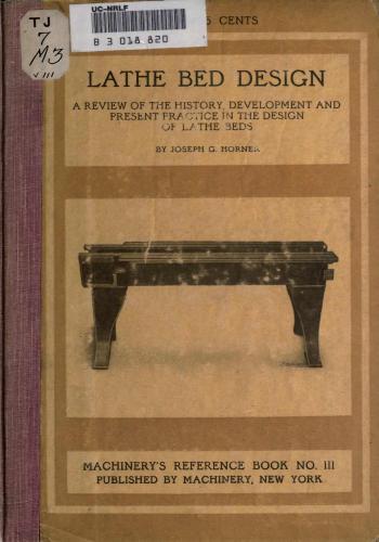 كتاب Lathe Bed Design  M_r_s132