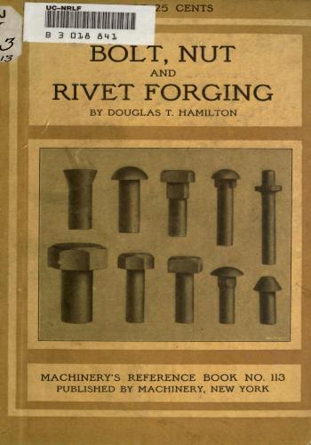 كتاب Bolt, Nut and Rivet Forging  M_r_s134