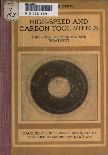 كتاب High-Speed and Carbon Tool Steels  M_r_s138