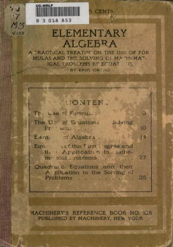 كتاب Elementary Algebra  M_r_s_12