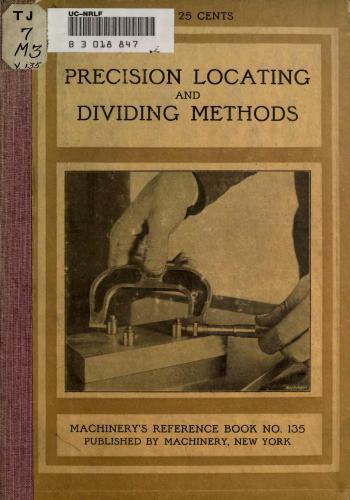 كتاب Precision, locating and Dividing Methods M_r_s_15
