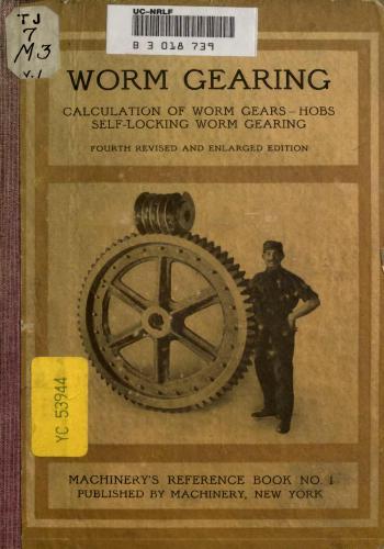 كتاب Worm Gearing M_r_s_22