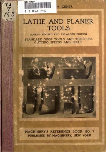 كتاب Lathe and Planer Tools M_r_s_27