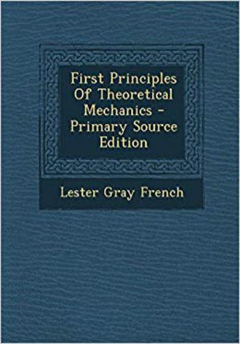 كتاب First Principles of Theoretical Mechanics  M_r_s_29