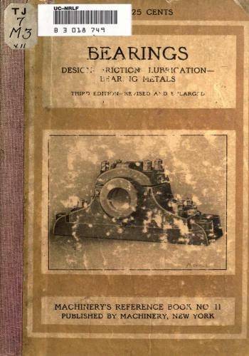 كتاب Design Friction Lubrication Bearing Metals  M_r_s_32