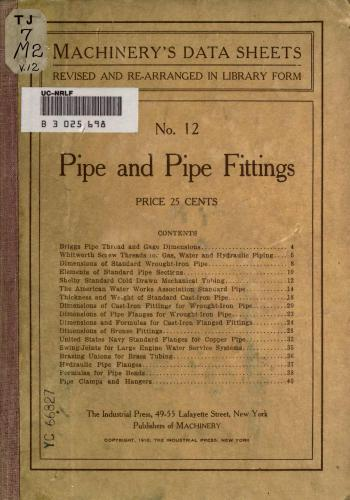 كتاب Pipe and Pipe Fittings  M_r_s_33