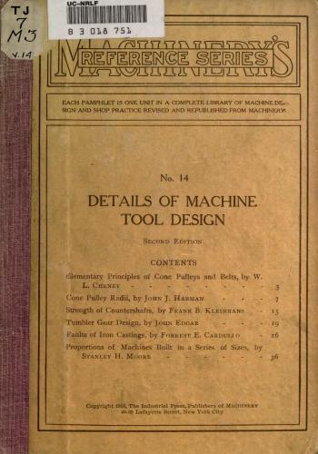 كتاب Details of Machine Tool Design  M_r_s_35