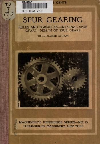 كتاب Spur Gearing  M_r_s_36