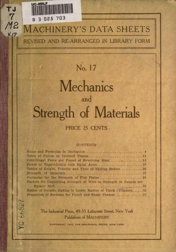 كتاب Mechanics and Strength of Materials  M_r_s_38