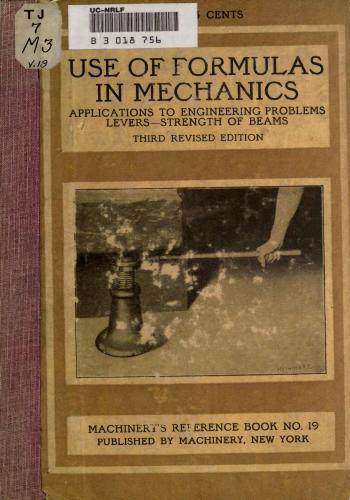 كتاب Use of Formulas in Mechanics  M_r_s_40