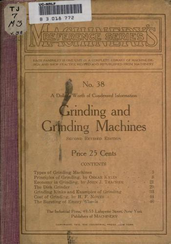 كتاب Grinding and Grinding Machines  M_r_s_59