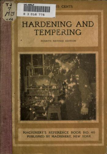 كتاب Hardening and Tempering  M_r_s_68