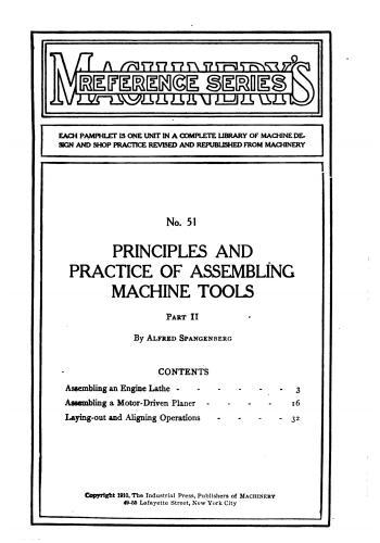 كتاب Principles and Practice of Assembling Machine Tools - Part II   M_r_s_72