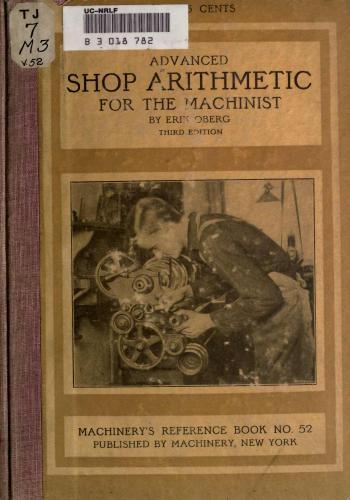 كتاب Advanced Shop Arithmetic for the Machinist  M_r_s_73