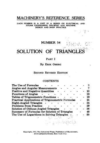 كتاب Solution of Triangles - Part I M_r_s_75