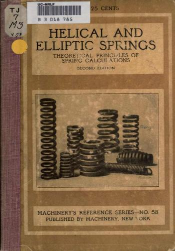 كتاب Helical and Elliptic Springs  M_r_s_79