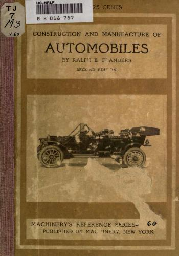 كتاب Construction and Manufacture of Automobiles  M_r_s_81