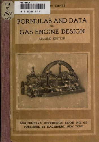 كتاب Formulas and Constants for Gas Engine Design  M_r_s_86