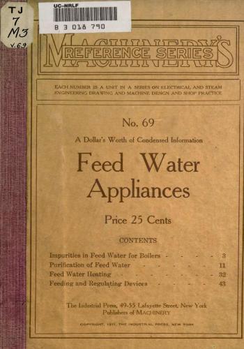 كتاب Feed Water Appliances  M_r_s_90