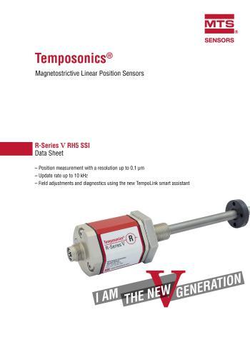 كتيب Temposonics - Magnetostrictive Linear Position Sensors  M_s_l_10