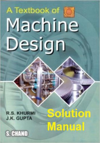 حل كتاب Machine Design of Machine Design Textbook - Manual Solutions M_s_m_10