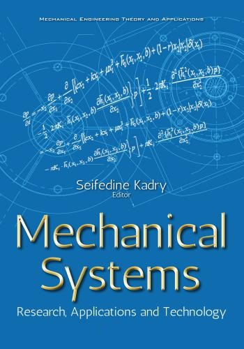 كتاب - كتاب Mechanical Systems - Research, Applications and Technology  M_s_r_10