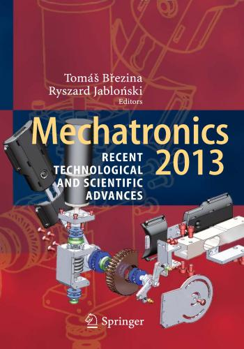 كتاب Mechatronics  - Recent Technological and Scientific Advances  M_t_1311
