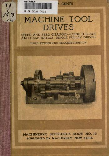 كتاب Machine Tool Drives M_t_d10