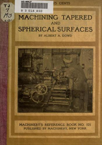 كتاب Machining Tapered and Spherical Surfaces  M_t_s_10