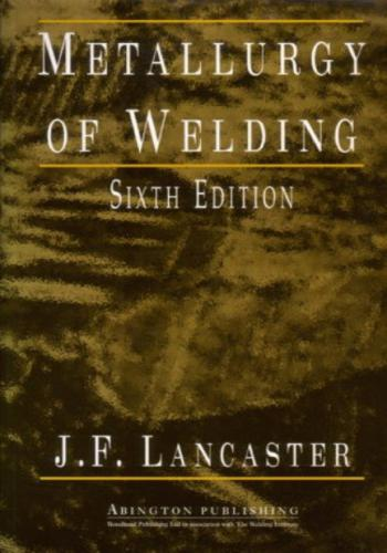 كتاب مترولوجيا اللحام - Metallurgy of Welding  M_w10