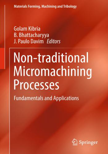 كتاب Non-traditional Micromachining - Processes Fundamentals and Applications  N_t_m_10