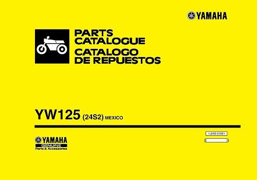 كتالوج دراجة بخارية - YW125 Parts Catalogue  P_c_c_11