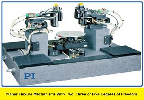 كتيب بعنوان Planer Flexure Mechanisms With Two, Three or Five Degrees of Freedom  P_f_m_10