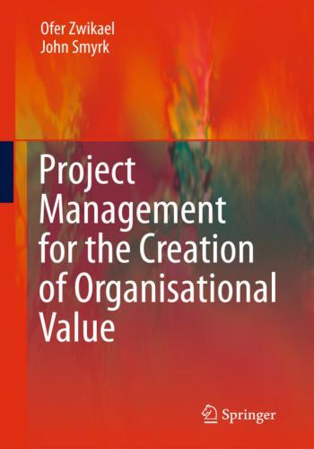 كتاب Project Management for the Creation of Organisational Value  P_m_f_11