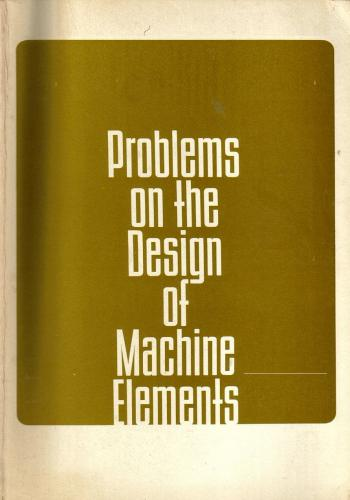 كتاب Problems on the Design of Machine Elements  P_o_t_10
