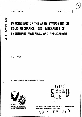 كتاب Proceedings of the Army Symposium on Solid Mechanics  P_o_t_11