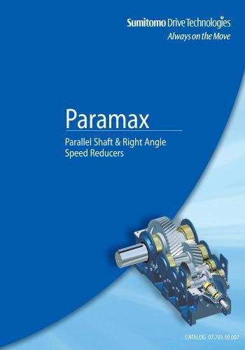 كتاب Paramax - Parallel Shaft & Right Angle Speed Reducers  P_p_s_10