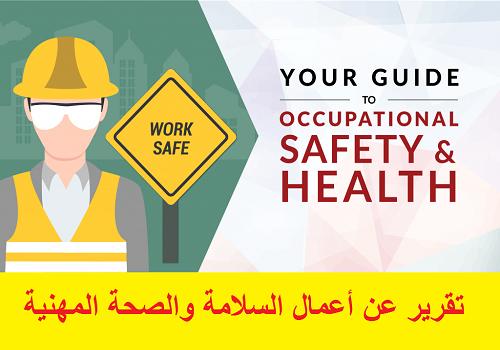 محاضرة بعنوان أعمال السلامة والصحة المهنية  P_r_s_11