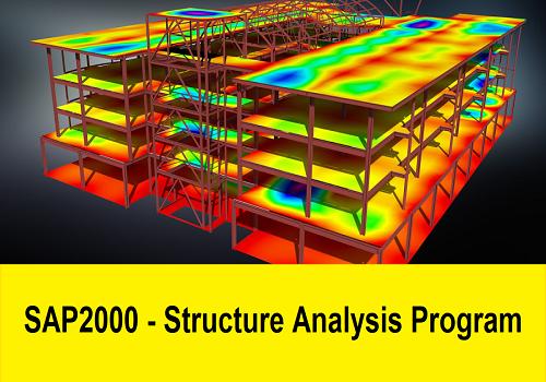 كتيب بعنوان SAP2000 - Structure Analysis Program  S_2_v_10