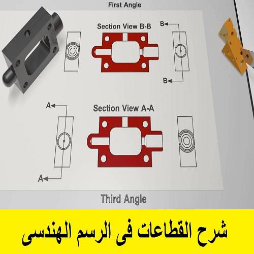 كتيب شرح القطاعات فى الرسم الهندسى  S_e_d10